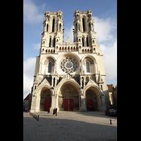 Laon, Cathédrale Notre-Dame, Fassade
