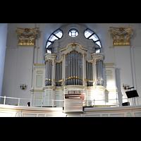 Hamburg, St. Michaelis, ''Michel'' (Krypta-Orgel), Konzertorgel auf der linken Seitenempore