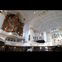 Hamburg, St. Michaelis, ''Michel'' (Krypta-Orgel), Haupt- und Konzertorgel