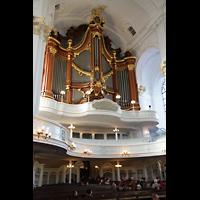 Hamburg, St. Michaelis, ''Michel'' (Krypta-Orgel), Hauptorgelempore