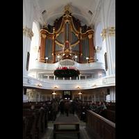 Hamburg, St. Michaelis, ''Michel'' (Krypta-Orgel), Hauptorgel