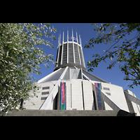 Liverpool, Metropolitan Cathedral of Christ the King, Außenansicht der Kathedrale