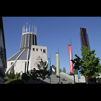 Liverpool, Metropolitan Cathedral of Christ the King, Außenansicht