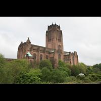 Liverpool, Anglican Cathedral (Hauptorgelanlage), Gesamtansicht der Kathedrale