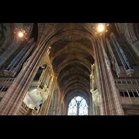 Liverpool, Anglican Cathedral (Hauptorgelanlage), Orgel perspektivisch