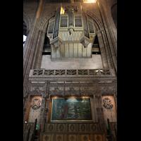 Liverpool, Anglican Cathedral (Hauptorgelanlage), Prospekt in der rechten Chorseite