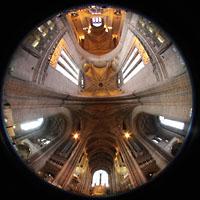 Liverpool, Anglican Cathedral (Hauptorgelanlage), Gesamter Innenraum