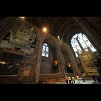 Liverpool, Anglican Cathedral (Hauptorgelanlage), Rechter Chorraum mit Orgel