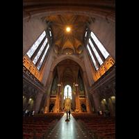 Liverpool, Anglican Cathedral (Hauptorgelanlage), Zentralraum mit Kuppel