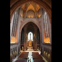 Liverpool, Anglican Cathedral (Hauptorgelanlage), Zentralraum