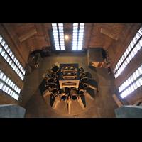 Liverpool, Anglican Cathedral (Hauptorgelanlage), Inneres des Glockenturms