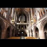 Liverpool, Anglican Cathedral (Hauptorgelanlage), Lady Chapel in Richtung Orgel