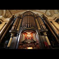 Liverpool, St. George's Hall, Orgel perspektivisch
