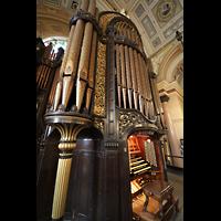 Liverpool, St. George's Hall, Orgel seitlich