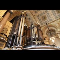 Liverpool, St. George's Hall, Orgelempore