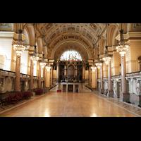 Liverpool, St. George's Hall, Innenraum des großen Saals
