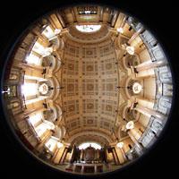 Liverpool, St. George's Hall, Großer Saal Gesamtansicht