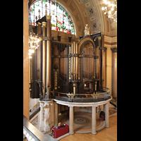 Liverpool, St. George's Hall, Orgel von der Seitenempore aus gesehen