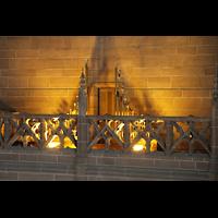 Liverpool, Anglican Cathedral (Hauptorgelanlage), Trompette Militaire in der Kuppel