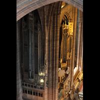 Liverpool, Anglican Cathedral (Hauptorgelanlage), Linker Teil des Orgelprospekts