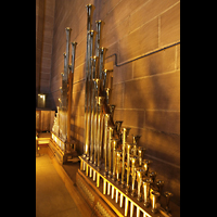 Liverpool, Anglican Cathedral (Hauptorgelanlage), Pfeifen der Trompette Militaire