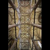 Verona, Basilica di S. Anastasia, Deckengewölbe und Malerei