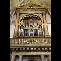 Verona, Basilica di S. Anastasia, Orgelprospekt