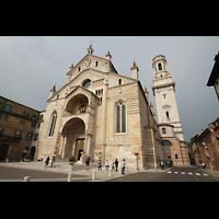 Verona, Cattedrale S. Maria Assunta (Chororgel), Außenansicht