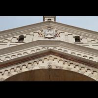 Verona, Cattedrale S. Maria Assunta (Chororgel), Fassaden-Detail