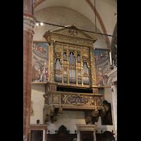 Verona, Cattedrale S. Maria Assunta (Chororgel), Empore der Evangelienorgel