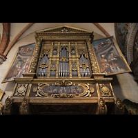 Verona, Cattedrale S. Maria Assunta (Chororgel), Prospekt der Evangelienorgel