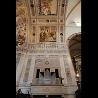Verona, Cattedrale S. Maria Assunta (Chororgel), Chororgel und Chorgewölbe
