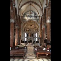 Verona, Cattedrale S. Maria Assunta (Chororgel), Chorraum