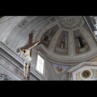 Sorrento, Cattedrale, Chorgewölbe mit Kreuz