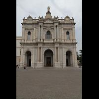 Pompei, Santuario della Madonna, Fassade