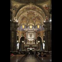 Pompei, Santuario della Madonna, Chorraum
