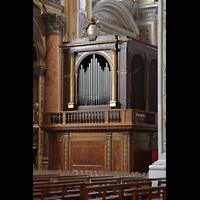Roma (Rom), Basilica S. Pietro (Petersdom), Orgel im Chorraum (Epistelseite)