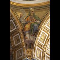 Roma (Rom), Basilica S. Pietro (Petersdom), Figur unter der Kuppel