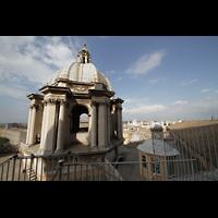 Roma (Rom), Basilica S. Pietro (Petersdom), Kleinere Kuppeln auf dem Basilikadach