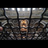 Roma (Rom), Basilica S. Pietro (Petersdom), Blick vom Kuppelumgang in den Chorraum