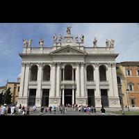 Roma (Rom), Basilica San Giovanni in Laterano (Linke Chororgel), Fassade