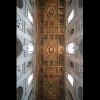 Roma (Rom), Basilica San Giovanni in Laterano (Linke Chororgel), Kassettendecke