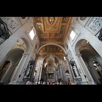 Roma (Rom), Basilica San Giovanni in Laterano (Linke Chororgel), Vierungsraum