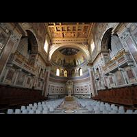 Roma (Rom), Basilica San Giovanni in Laterano (Linke Chororgel), Chorraum