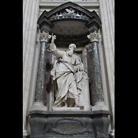 Roma (Rom), Basilica San Giovanni in Laterano (Linke Chororgel), Thomas-Statue
