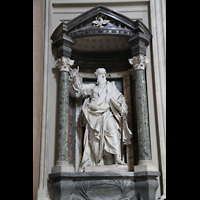 Roma (Rom), Basilica San Giovanni in Laterano (Linke Chororgel), Paulus-Statue