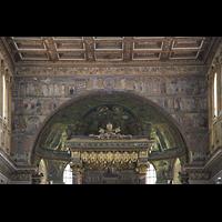 Roma (Rom), Basilica S. Maria Maggiore, Apsis im Chorraum