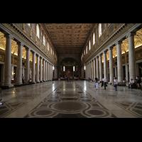 Roma (Rom), Basilica S. Maria Maggiore, Innenraum in Richtung Chor