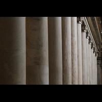Roma (Rom), Basilica S. Maria Maggiore, Säulen im Hauptschiff