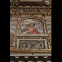 Roma (Rom), Basilica S. Maria Maggiore, Gemälde an der Hauptschiffwand